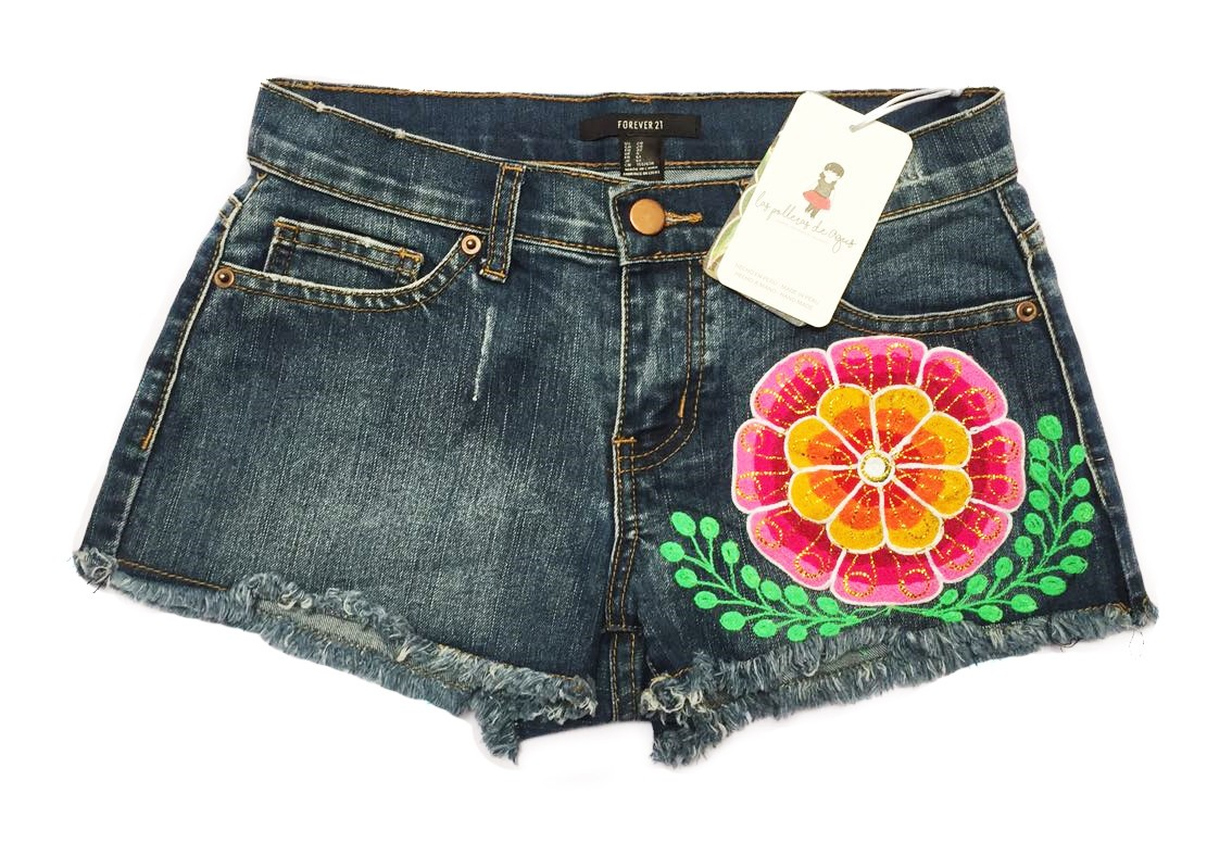 Embroidery Short