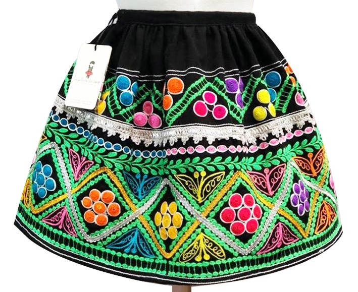 Ccatca andean skirt, Size 12