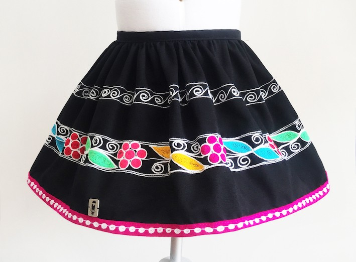 Acomayo Andean Skirt - Size 6