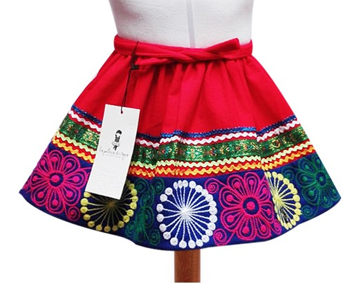 Quispicanchis Andean Skirt Size 4