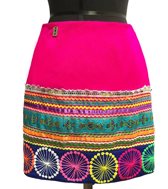 Quispi Andean Skirt, Size XS