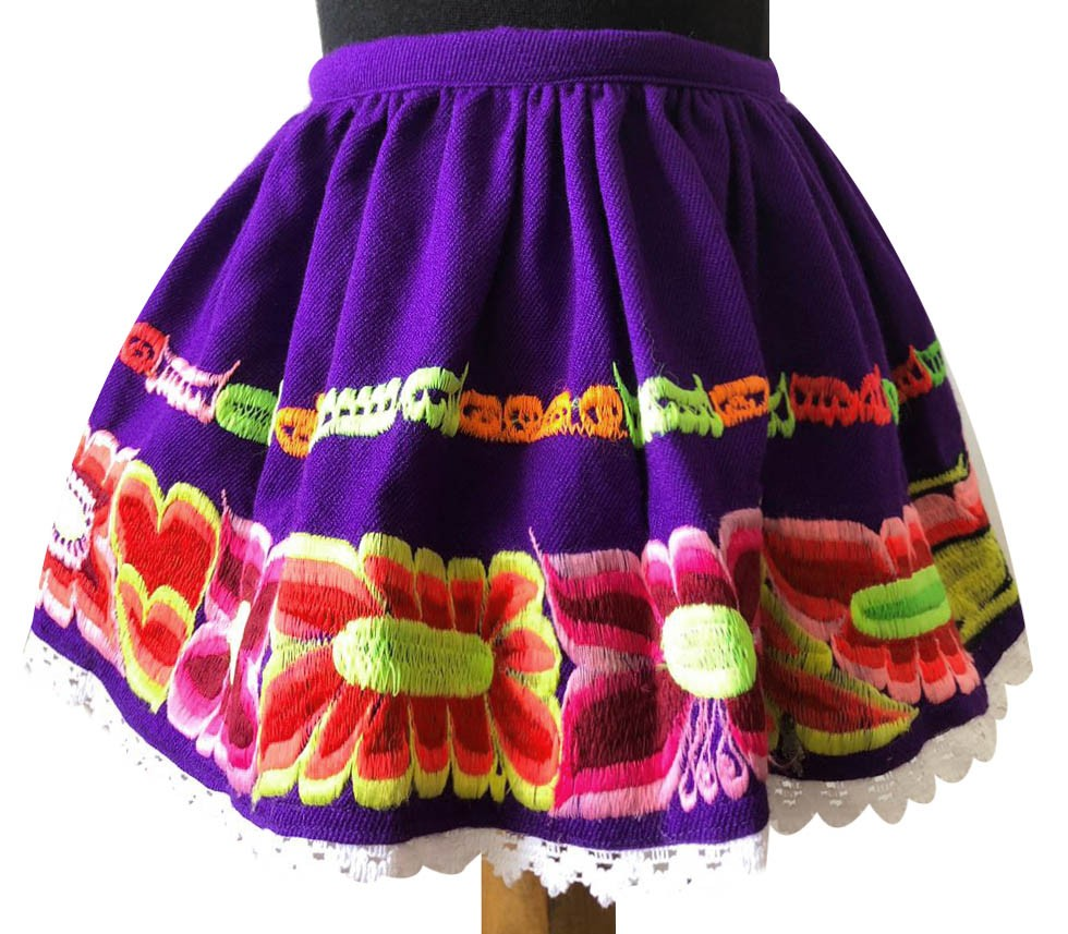 Huancayo andean skirt, Size 2
