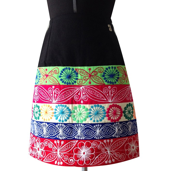 Cheq'a andean skirt, Size M