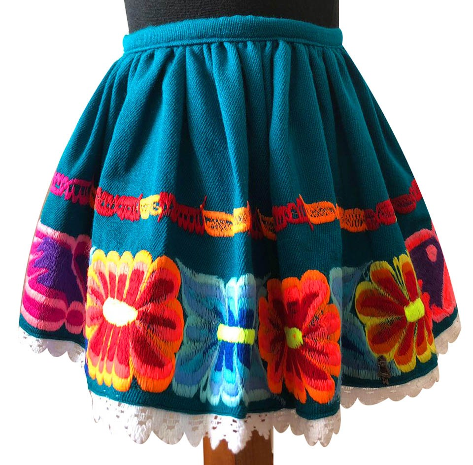 Huancayo andean skirt, Size 4