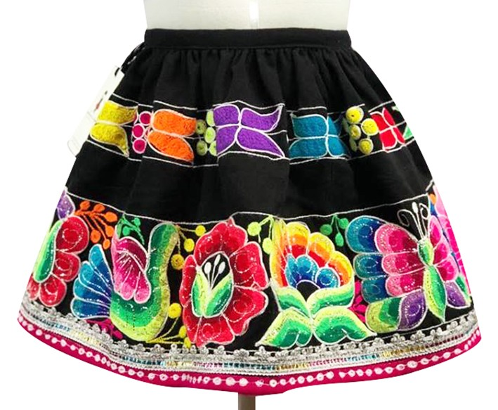 San Pablo andean skirt, Size 8