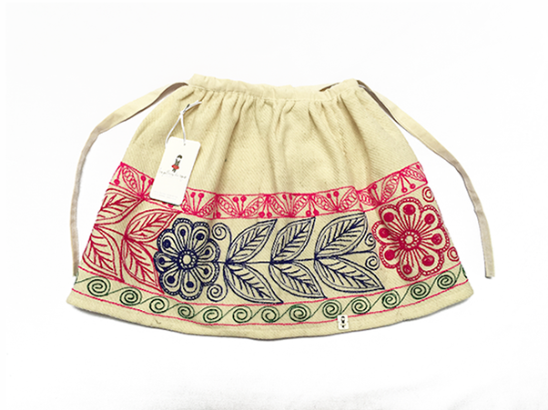 Canas Andean Skirt - Size 4 - 8 - 12