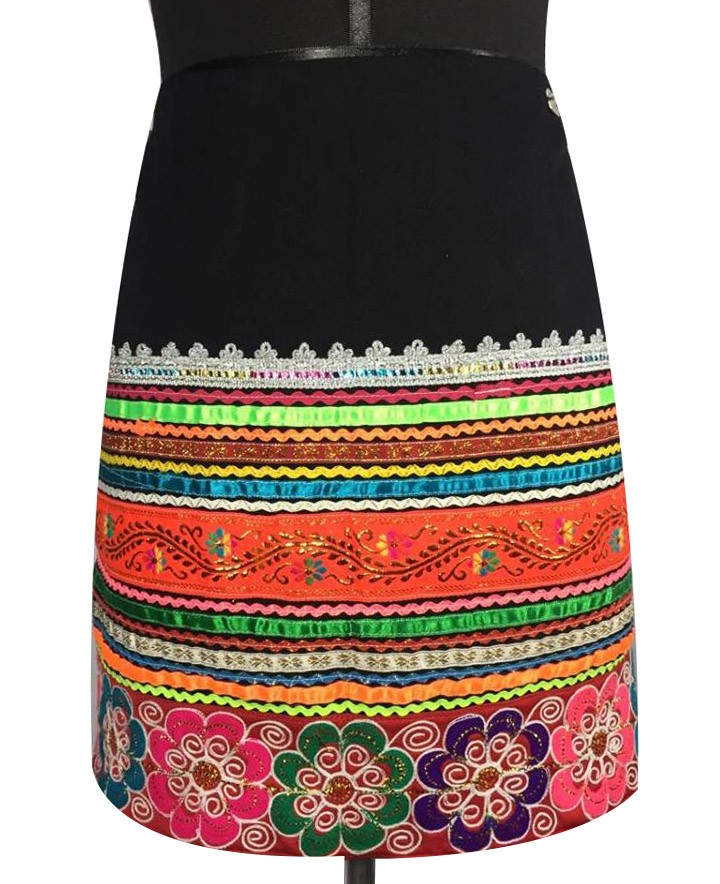 Quispicanchis andean skirt, Size L