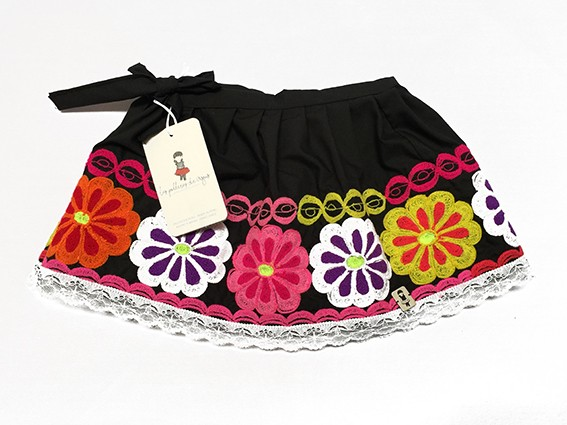 Cusco Andean Skirt - Size 12-18 m - 4