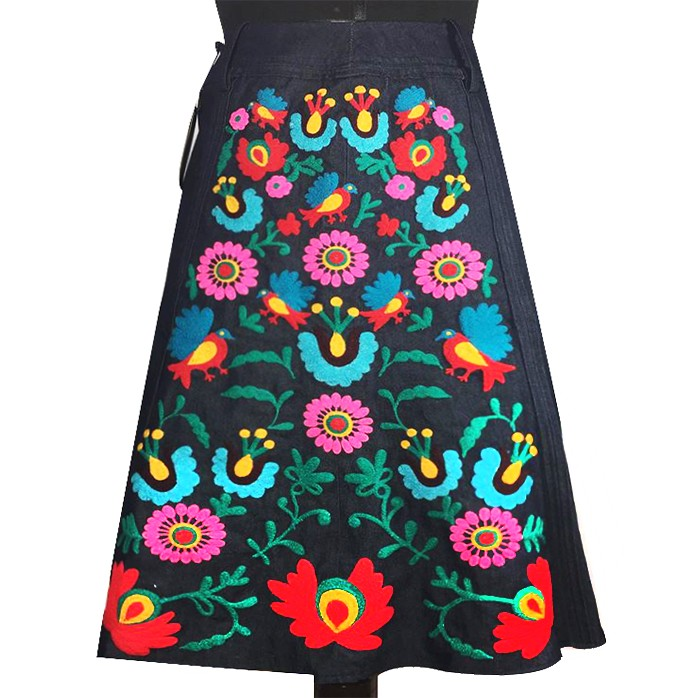 Cusco andean skirt, Size L