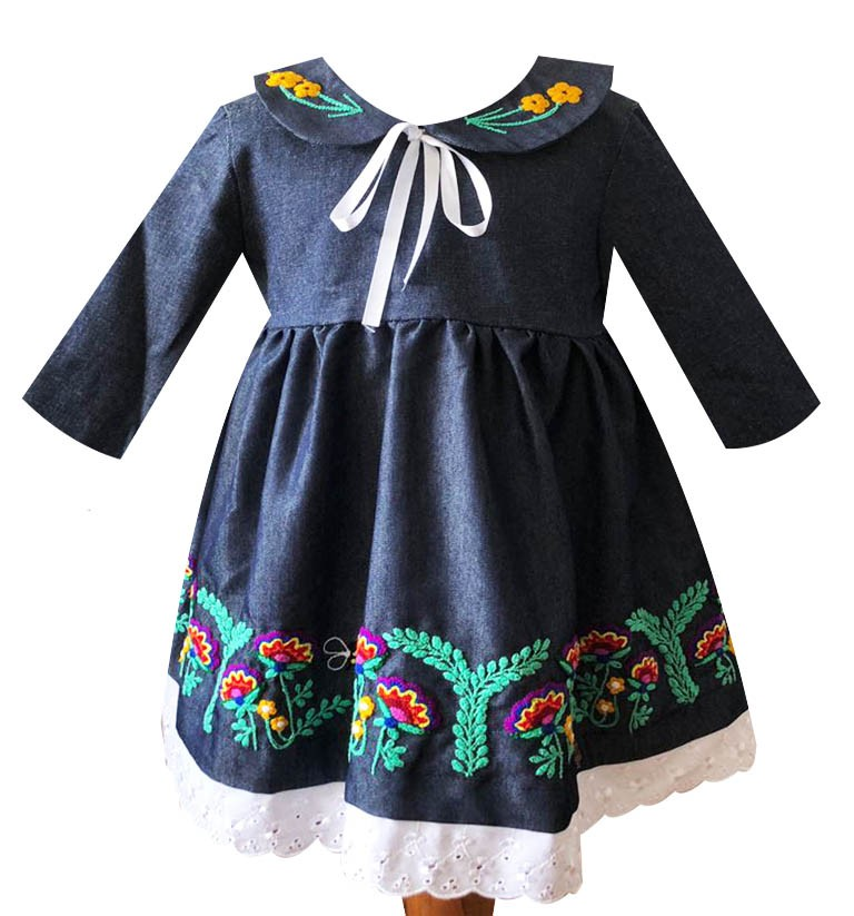 Cusco andean dress, Size 2 - 8