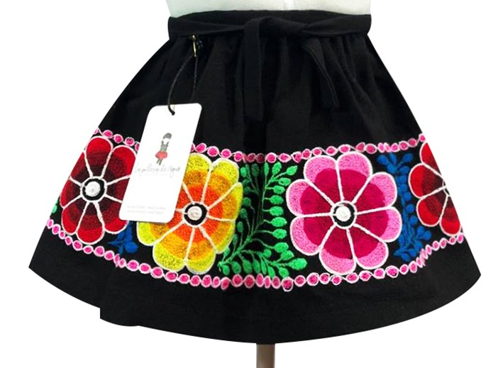 Ccatca Andean Skirt, Size 4