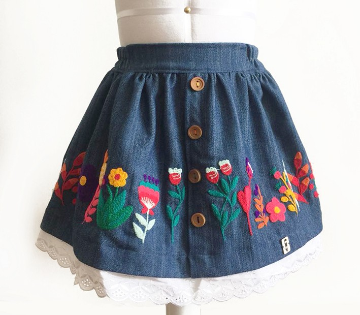 Cusco andean skirt - Size 12