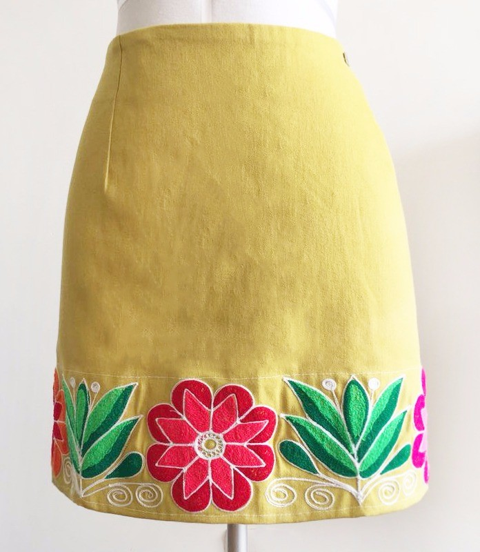 Huamanga andean skirt - Size L