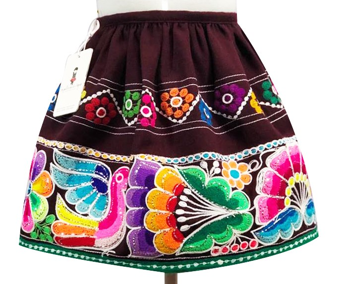 San Pablo andean skirt, OUT OF STOCK