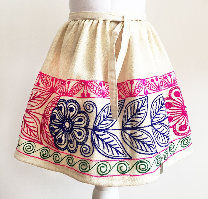 Canas andean skirt, Size 12